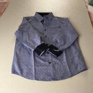 Level Ten Boy's Shirt Blue color size Small(8) g19